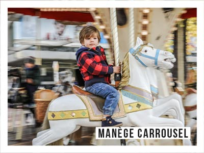 Animations - manège carrousel - Les Dimanches au Galop
