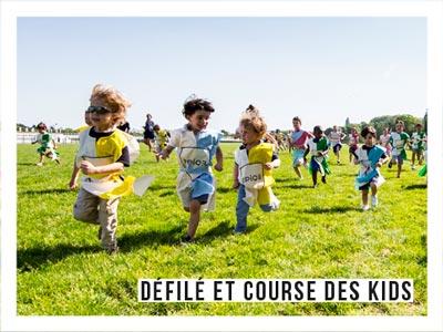 Animations - course des enfants sur la piste - Les Dimanches au Galop
