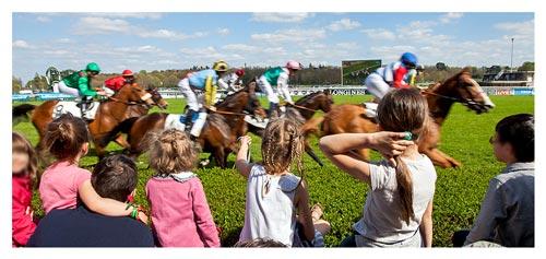 Spectacle des courses - Les Dimanches au Galop